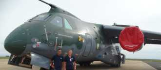 RINA EMC Consultants Successfully Complete HIRF Certification Tests onboard Embraer KC-390 Aircraft in Brazil