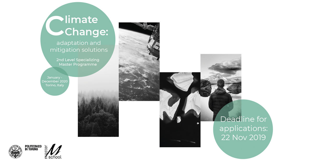 Climate change: adaptation and mitigation solutions